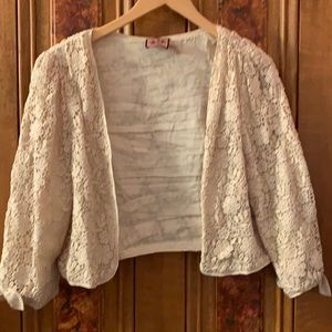 Juicy Couture cotton crochet cardigan